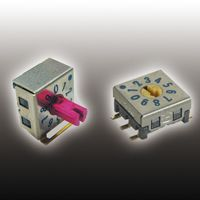 SMR, 10 Position SP10T Rotary Switch, 100 (Non-Switching) mA, 30 (Switching) mA, Gull Wing product photo