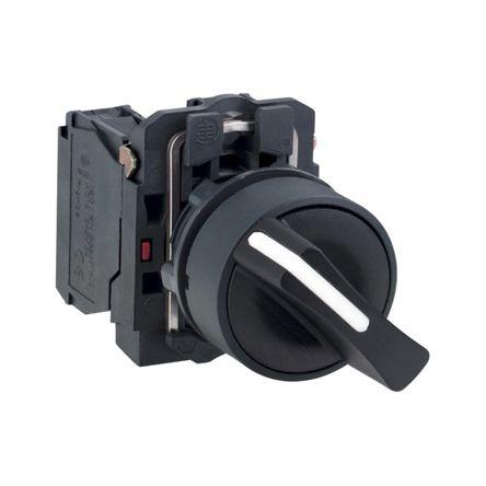 Clipsal Electrical XB5 DPNO 22mm Push Button Control Station, IP67, IP69, IP69K 42mm 30mm +70°C -40°C Black 70mm