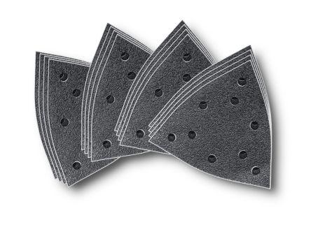 FEIN Aluminium Oxide Sanding Sheet, 60, 80, 120, 180 Grit, 130 (Edge)mm