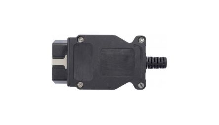 Schutzinger Set with OBD Connector, For Use With Vehicle Interior OBD II Socket