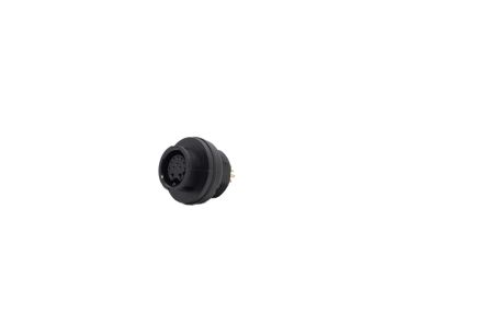Straight Male C3 Industrial Automation Cable Assembly, 5 Core , 2.058m Cable product photo