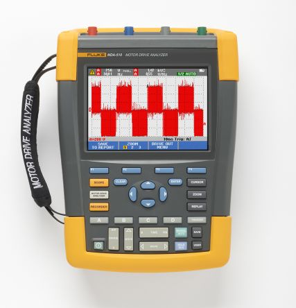 Fluke MDA-510 Series MDA-510 Oscilloscope, 4 Channels, 500MHz