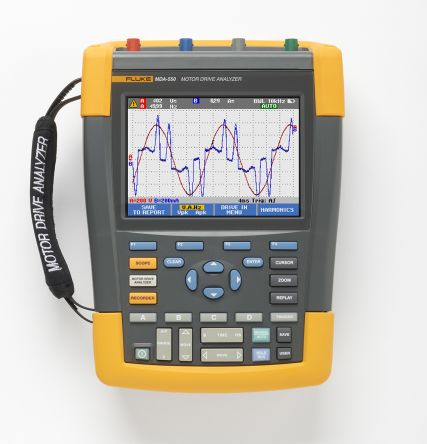 Fluke MDA-550 Series MDA-550 Oscilloscope, 4 Channels, 500MHz