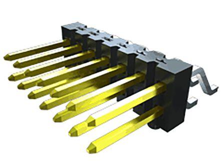 Samtec, TSM, 10 Way, 2 Row, Vertical PCB Header