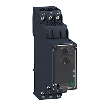 Schneider Electric Phase Monitoring Relay With DPDT Contacts, 380 → 480 V ac Supply Voltage, 3 Phase