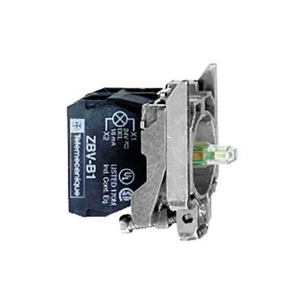 Schneider Electric Harmony XB4 Light Block - SPDT White, 110 → 120 V ac