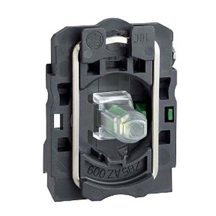 Schneider Electric Harmony XB5 Light Block SPNO LED Blue 120 → 240 V ac, 125 → 600 V dc Screw terminal