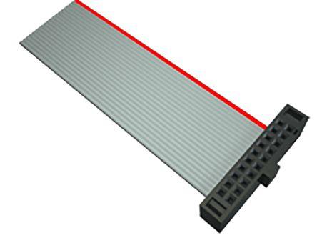 Samtec FFSD Ribbon Cable Assembly, IDC Socket to IDC Socket, 304.8mm