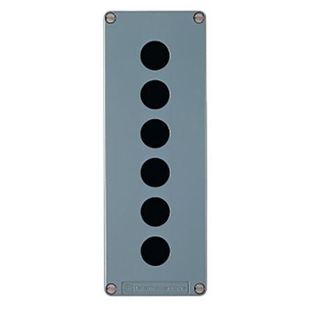 Schneider Electric XAP 22mm Push Button Control Station, IP65, IP69, IP69K Black +70°C -40°C Emergency Stop