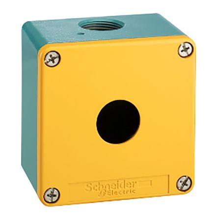 Schneider Electric XAP Push Button Control Station, IP65, IP69, IP69K Blue +70°C -40°C 1
