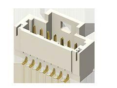 Samtec, T1M, 10 Way, 1 Row, Vertical PCB Header