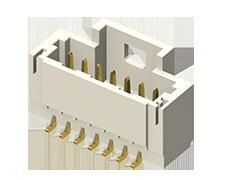 Samtec, T1M, 10 Way, 1 Row, Right Angle PCB Header