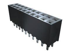 Samtec, SQW 2mm Pitch 16 Way 2 Row Vertical PCB Socket, Through Hole, Solder Termination