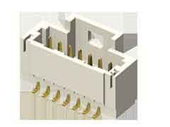 Samtec, T1M, 2 Way, 1 Row, Horizontal PCB Header