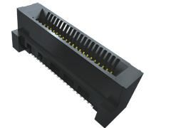 Samtec HSEC8-DV Series, Vertical FemalePCBEdge Connector, SMT Mount, 120 Way, 2 Row, 0.8mm Pitch, 2.8A