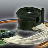 Fan Kit, Copal Electronics, TF037C-2100-P DC 29W 24 V dc 50.5 x 54 x 40.4mm