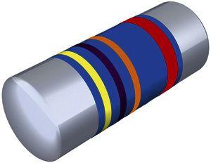 120kΩ 0207 Thin Film SMD Resistor ±2% 0.4W - CMB02070X1202GB200