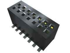 Samtec, FLE 1.27mm Pitch 16 Way 2 Row Vertical PCB Socket, Surface Mount, Solder Termination