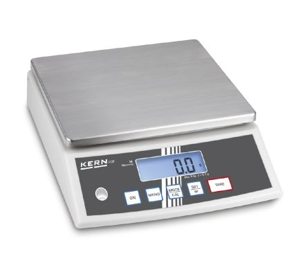 Kern Bench Scales, 30kg Weight Capacity Type C - European Plug