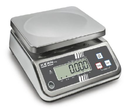 Kern Bench Scales, 3kg Weight Capacity Type C - European Plug