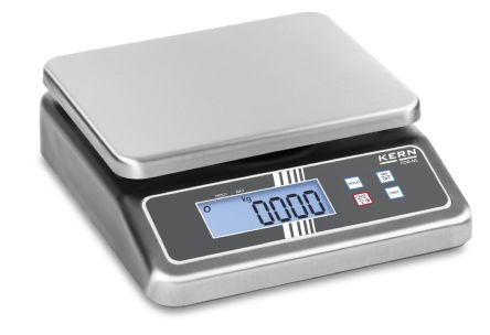 Kern Bench Scales, 15kg Weight Capacity Type C - European Plug