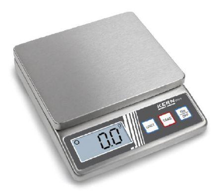Kern Bench Scales, 5kg Weight Capacity Type C - European Plug