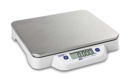 Kern Bench Scales, 50kg Weight Capacity Type C - European Plug