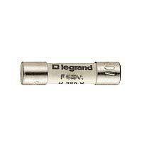 Legrand, 500mA Ceramic Cartridge Fuses, 5 x 20mm, Speed F