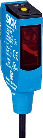 Sick Retro-reflective Photoelectric Sensor 0 → 5 m Detection Range PNP IP66, IP67, IP69K Rectangular Style