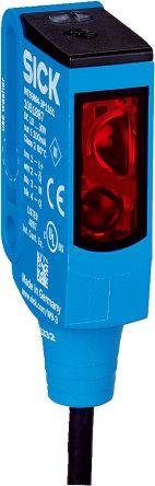 Sick Background Suppression Photoelectric Sensor 20 → 350 mm Detection Range PNP IP66, IP67, IP69K