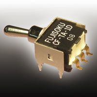 Copal Electronics SPDT Toggle Switch, (On)-On, PCB