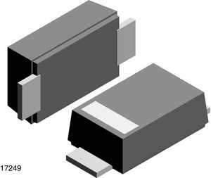 Vishay Switching Diode, 1.5A 1000V, 2-Pin DO-219AB S07M-GS08
