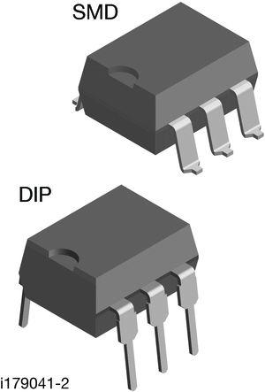 DIP-6 TRIAC ZC 1.5kV/us 5mA -e3