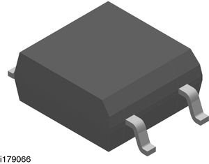 VOM3052T, 6V, TRIAC 10mA, 4-pin, Surface Mount, SOP Vishay