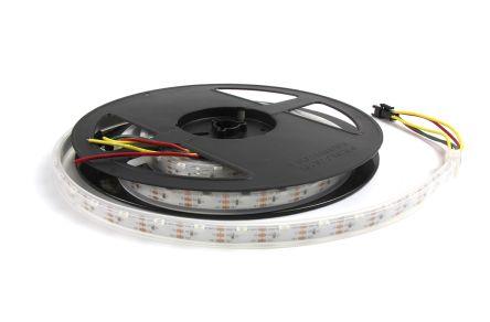Intelligent LED Solutions RGB LED Strip 2m 5V dc, ILPX-KS11-RGB1-2M0-SK10512-I1.
