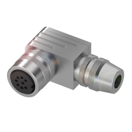 BALLUFF M16 8-Pin Male Cable & Connector, 60 V ac/dc on