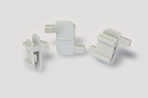 HellermannTyton Self Adhesive Ivory Cable Tie Mount 19 mm x 40mm