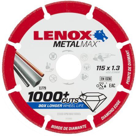 Lenox Diamond Cutting Wheel, 115mm Diameter, 1.3mm Thick