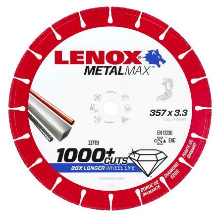 Lenox Diamond Cutting Wheel, 357mm Diameter, 3.3mm Thick