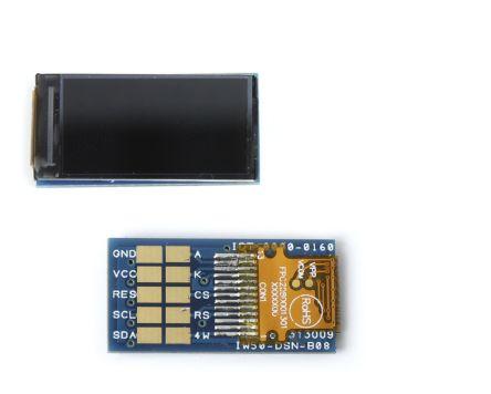 RS PRO TFT LCD Colour Display, 80 x 160pixels
