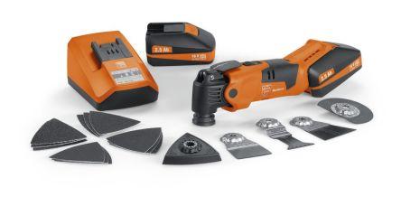 FEIN FEIN MultiMaster Cordless Oscillating Multi-Tool, Euro Plug