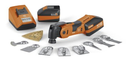 FEIN FEIN Professional Set Cordless Oscillating Multi-Tool, Euro Plug