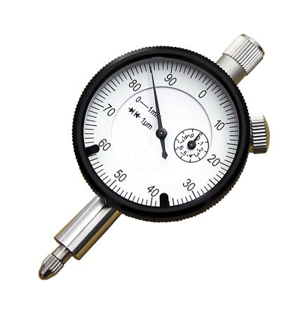 RS PRO Plunger Digital Indicator, Range 0  1 mm