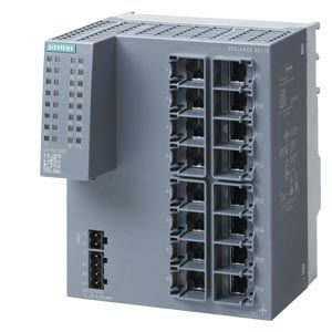 Siemens PC Data Acquisition for use with Industrial Ethernet Network 16 x RJ45 In, Ethernet