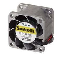 Sanyo Denki 9L Series Axial Fan, 40 x 40 x 28mm, 5.65cfm, 540mW, 12 V dc