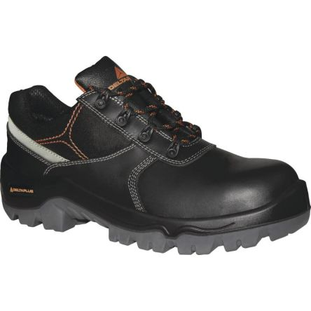 Delta Plus PHOCE Black Composite Toe Cap Safety Shoes, UK 7, EU 41