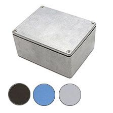 Aluminium Enclosure, IP66, Flanged, 115 x 90 x 55mm product photo