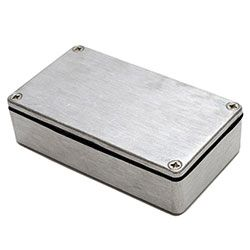 Aluminium Enclosure, IP68, Flanged, 115 x 64 x 30mm product photo