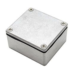 Aluminium Enclosure, IP68, Flanged, 61 x 56 x 30mm product photo