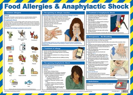 RS PRO Safety Poster, English, 420 mm, 590mm